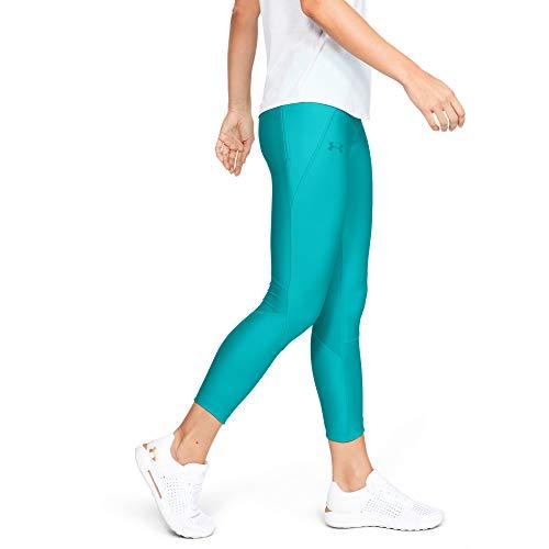 Under Armour Armour Fly Fast Crop Pantalon de sport ultra-léger, Legging de compression Femme, Bleu, XS