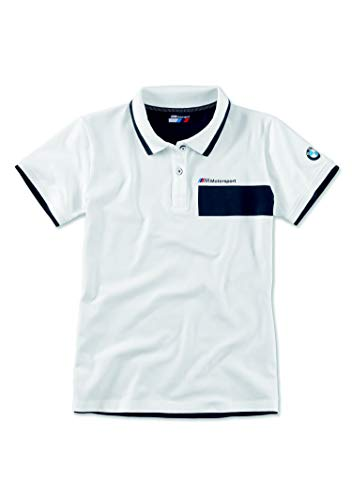 BMW ORIGINAL M Motorsport Jersey Polo Shirt Damen Strickkragen (L)
