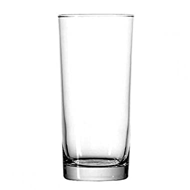 Anchor Hocking Heavy Base Highball Drinking Glasses, 15 oz (Set of 12)