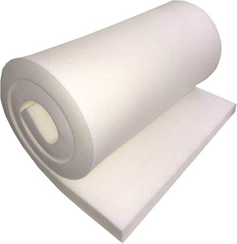 Buy Bargain FoamTouch Upholstery Foam Cushion High Density 6 Height x 26 Width x 75 Length Made i...