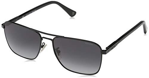 Police WESTWING 3 Gafas de sol, Negro (Shiny Black/Grey), 58