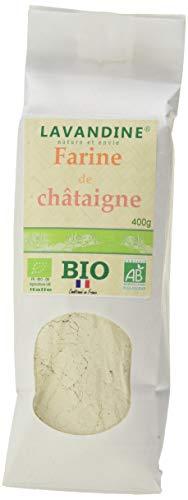LAVANDINE Farine de Châtaignes Bio 400 g - Lot de 2