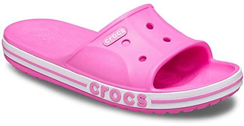 Crocs Bayaband Slide., Rosa eléctrico., 41/42 EU