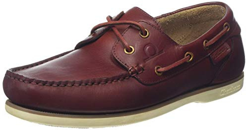 Chatham Newton, Náuticos para Hombre, Marrón (Red Brown 001), 42 EU