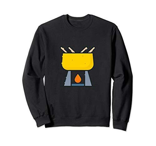 Fondue-Topf Sweatshirt