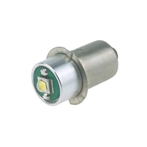 Do!LED P13.5s LED Cree Taschenlampe Lampe Weiss Birne 3 Watt 220 Lumen 1-3 Volt Gleichstrombetrieb DC