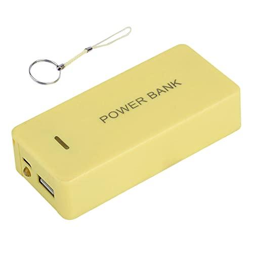 SENZHILINLIGHT Banco de energía portátil caso externo móvil de reserva Powerbank batería 8400 mAh cargador universal USB conveniente para el teléfono