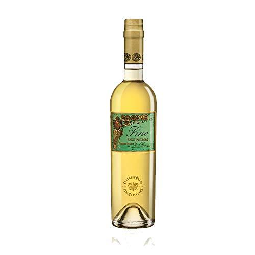 Wein Amontillado Fino Dos Palmas de 50 cl - D.O. Jerez - Bodegas Gonzalez Byass (1 Flasche)
