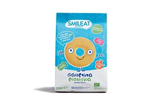 Smileat, Tentempiés para bebé (Espelta, manzana y aceite de oliva) - 6 de 230 gr. (Total 1380 gr.)