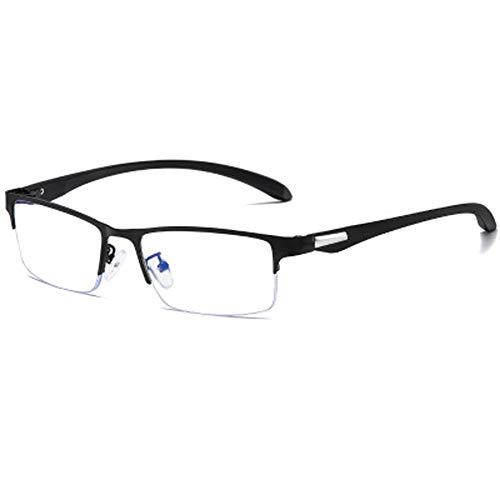 BLCC Anti-Blaulicht-Brille, große quadratische Gläser, flacher Spiegel, geeignet gegen Ermüdung der Augen, entlastet trockene Augen, Sicherheit der Augen, der Rahmen ist dünn, leicht und flexibel4
