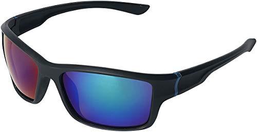Biker Sonnenbrille schwarz