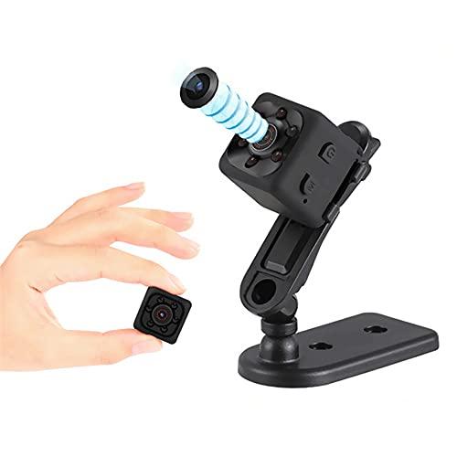 1080P HD Micro Camara Vigilancia Grabadora De Video Portátil con IR Visión Nocturna Detector De Movimiento, Mini Camara Espia Oculta, Camara Seguridad Pequeña Inalambrica Interior/Exterior