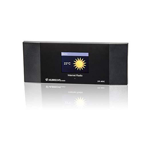 Albrecht DR 460 C, 27462, Internet-Radio Adapter mit Farbdisplay zum Anschluß an die Stereoanlage