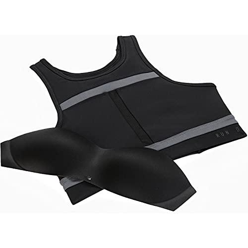 NIKE DD1101 W NK DF SWSH LL RUNDVSN BRA Sports bra women's black/iron grey/iron grey/(black) S