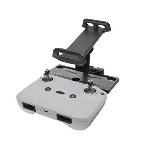 DJFEI Tablet/Handy Ständer Halter Extender für DJI Mavic Air 2/ Mini 2 Fernbedienung, Aluminium Alloy Tablet Ständer Halter Handy Mount Halterung für DJI Mavic Air 2 / Mini 2 Drone