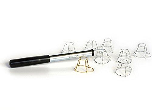 Stringigabbiette tiragabbiette tappatrice tappi in plastica e sughero vino spumante