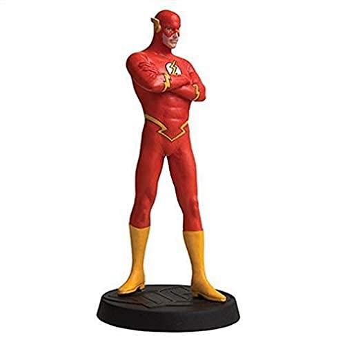 Eaglemoss- DC Superhero Collection Comics The Figura de Resina de Flash 90mm, Multicolor (5059072000345)