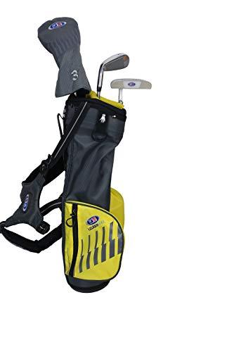 U.S. Kids Set 5 Piezas: Hierro Nº 7 + PW + Putter + Driver + Híbrido + Funda de Madera + Bolsa de Carro (Talla 63) Diestro Golf para Niños / UL20-63Set5 / UL 63 5 Club Soporte Bolsa Conjunto