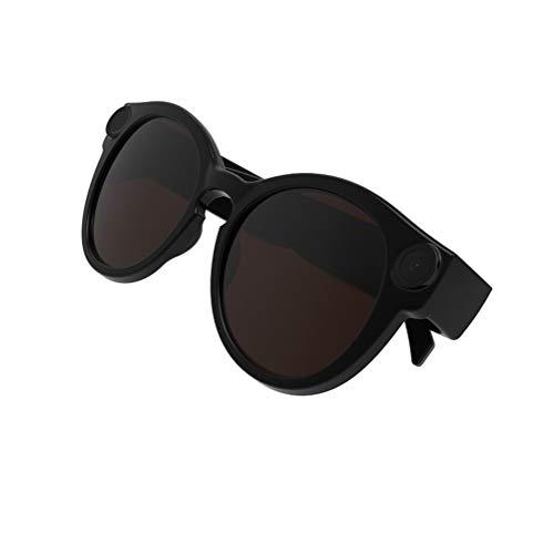 C- Smart Glasses Telecamera WiFi per Lo Sport Wireless Full HD 1080P Mini Portatile Sport Occhiali da Sole Videocamera Videoregistratore Videocamera,32g