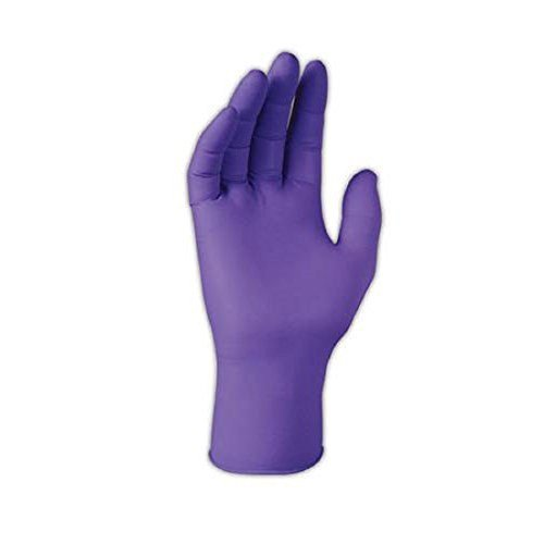 Halyard Purple Nitrile Exam Gloves, Large - 1/Box of 100