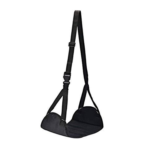 RIZEK Poggiapiedi portatile da viaggio e ufficio,Amaca con supporto regolabile in altezza.