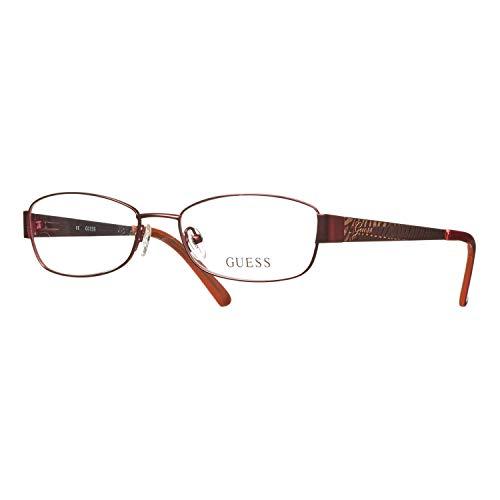 GUEX5 GU2404 53F61 bril GU2404 53F61 ovaal brilmontuur 53, rood