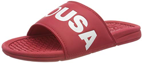 DC Shoes Herren Bolsa Se Badeschuhe, Blau Red White Rw2, 42 EU