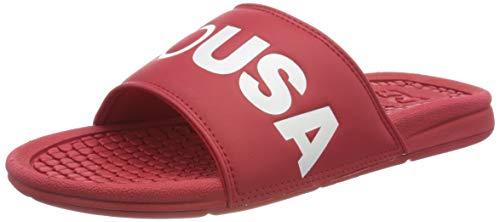 DC Shoes Bolsa SE - Slides for Men - Badeschuhe - Männer - EU 46 - Rot