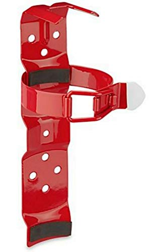 Fire Extinguisher Bracket - 2 1⁄2 lb. Standard Vehicle Mount - Red