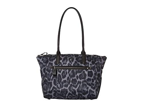 MICHAEL Michael Kors Nylon Kelsey Medium Top Zip Tote Gunmetal Multi One Size