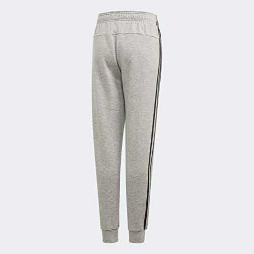 adidas Jungen YB E 3S PT Sport Trousers, medium Grey Heather/Black, 1213