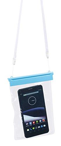 Somikon Tablet Tasche: wasserdichte Universal-Hülle für iPad Mini und Tablets bis 20,3 cm / 8