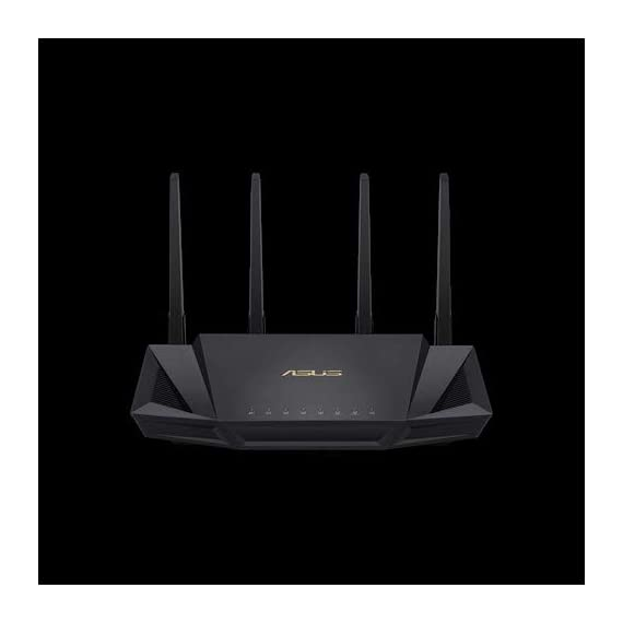 ASUS RT-AX58U Dual Band WIFI Router (RT-AX3000) (Renewed) 1 The Next Gen WiFi Standard - Future proof your home network with the next-gen WiFi 6 technology, providing up to 2. 7x faster speed than the previous WiFi generation featuring OFDMA and MU-MIMO technology. Ultra-Fast Wi-Fi - RT-AX3000 supports 160MHz bandwidth and 1024-QAM, boasting a total network speed of 3000 Mbps - 575Mbps on the 2. 4GHz band, and 2402GHz on the 5GHz band. The Most Powerful Mesh System — AiMesh technology allows you to establish an even stronger mesh WiFi system with other ASUS AiMesh compatible routers, ensuring stable and seamless whole home coverage.