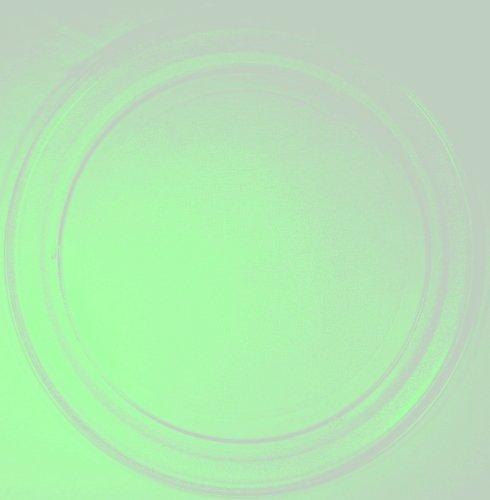 Mikrowellenteller / Drehteller / Glasteller für Mikrowelle # ersetzt Cybercom Mikrowellenteller # Durchmesser Ø 36 cm / 360 mm # Ersatzteller # Ersatzteil für die Mikrowelle # Ersatz-Drehteller # OHNE Drehring # OHNE Drehkreuz # OHNE Mitnehmer