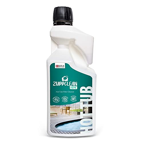Anzupp ZuppClean Home Hot Tub Filter Cleaner - Virucidal Antibacterial Hot...