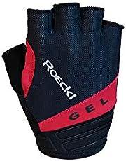 Roeckl Itamos fietshandschoenen kort zwart/rood 2020