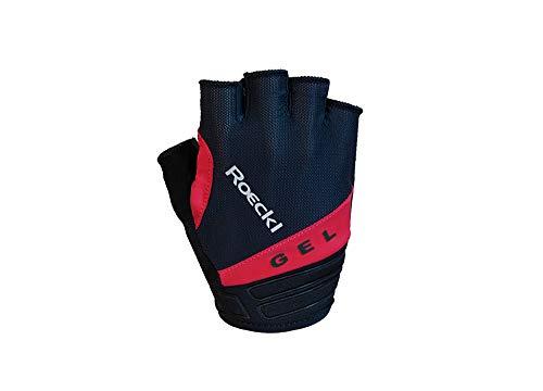 Roeckl Itamos Fahrrad Handschuhe kurz schwarz/rot 2020: Größe: 8