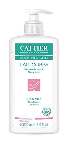 Cattier Lait Nourrissant Karité Géranium 500 ml