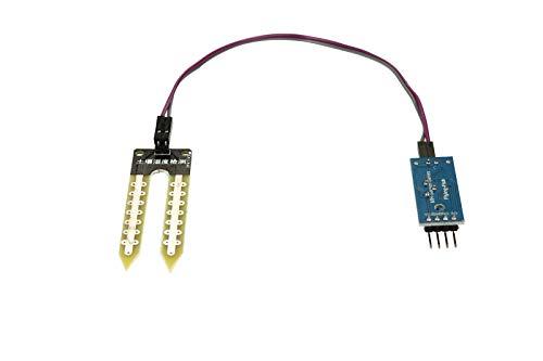 serliy Bodenfeuchte-Hygrometer für Arduino-Feuchtigkeitserkennungs-Sensormodul mit Draht