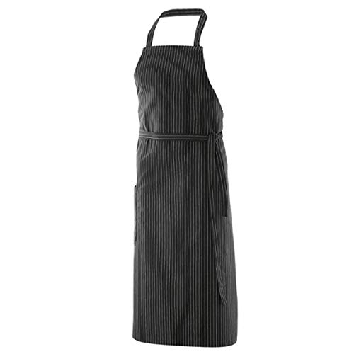 Exner Latzschürze XXL 100 x 100 cm, Größe:100 x 100 cm, Farbe:Black Pinstripe