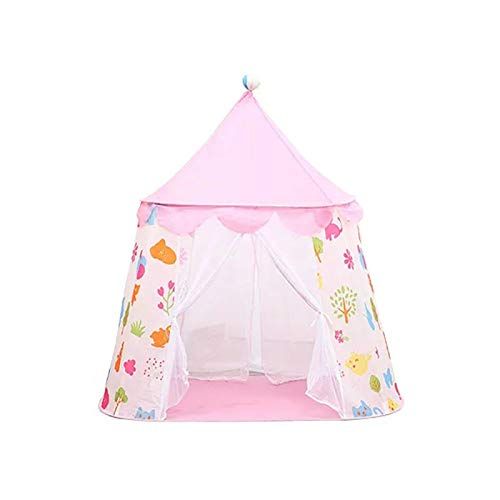 YFFSBBGSDK Campingzelt Großes Kinderzelt, Kinder-Innenbett, Spielhaus, tragbares kleines Kinderhaus, Campingzelt