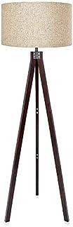 Led Desk Lamp Floor Lamp Wood Tripod Floor Lamp, Standing Lamp, Modern Design Studying Light for Living Room, Bedroom, Stu...