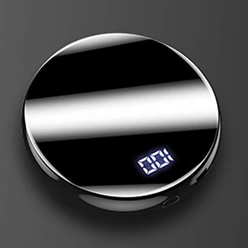LXFMZ 20000mAh Deluxe Power Bank, Ultra Slim Design Chargeur Portable, Mini Ultra-Compact à Haute Vitesse de Charge Batteries externes Smallest léger,Noir,20000mah