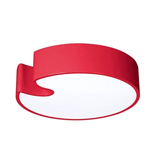 La Famille plafondlamp familie, warm, kleurrijk, voor kinderen Rood