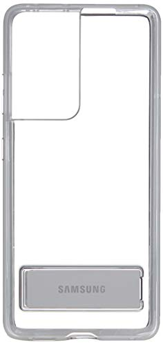 Samsung Galaxy S21 Ultra Case, Clear Standing Cover - Clear (US Version)
