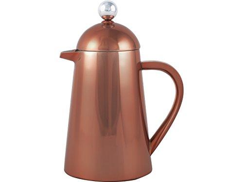 La Cafetière Thermique isotherme avec 8 tasses.Cafetière Française. Machine à café., Acier, cuivré, 8 tasses