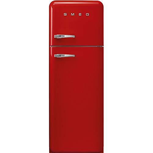 Smeg FAB30RRD3 nevera y congelador Independiente Rojo 294 L A+++ - Frigorífico (294 L, SN-T, 4 kg/24h, A+++, Compartimiento de zona fresca, Rojo)