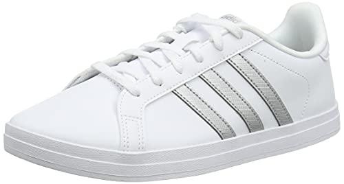 adidas Damen COURTPOINT Tennisschuhe, FTWBLA/Plamet/GRIPAL, 39 1/3 EU
