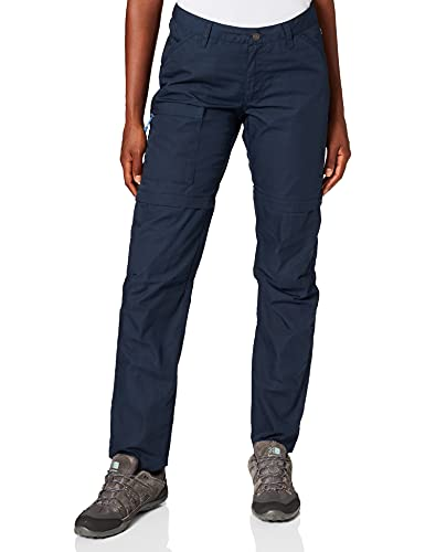 Pantalons Fjallraven High Coast Zip-Off Pantalons W pour femmes, Marine, 44