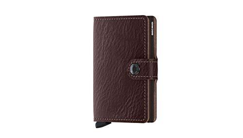 Secrid Miniwallet portemonnee Veg Espresso-brown | bruin